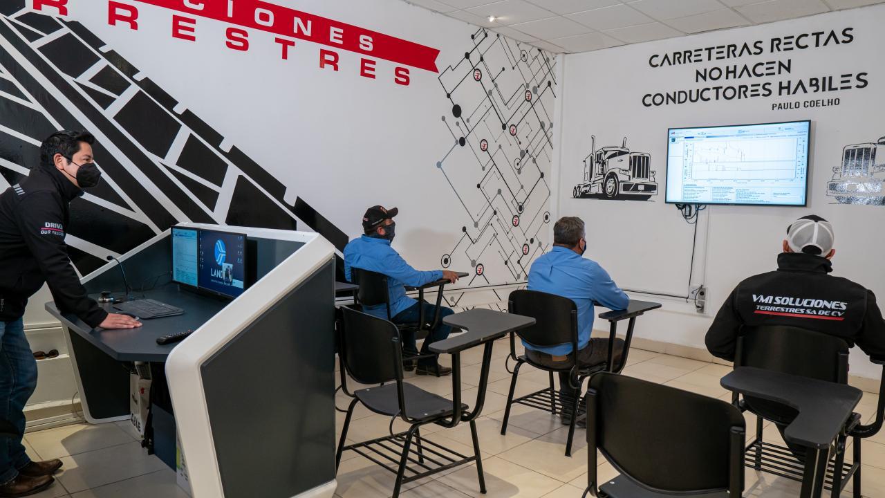 Formación conductores en simulador