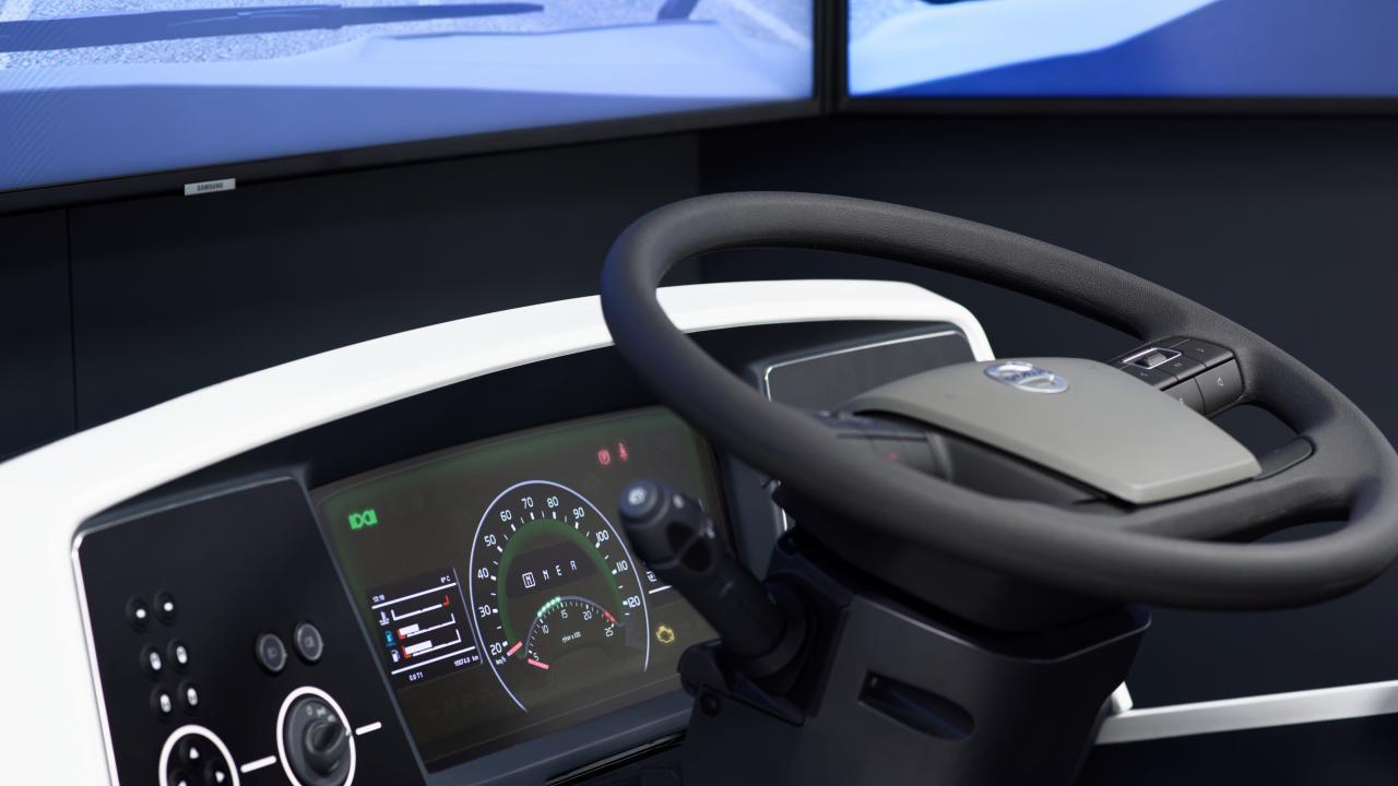 Simulador de conducción camión