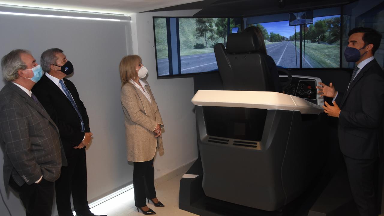 Electric bus simulator