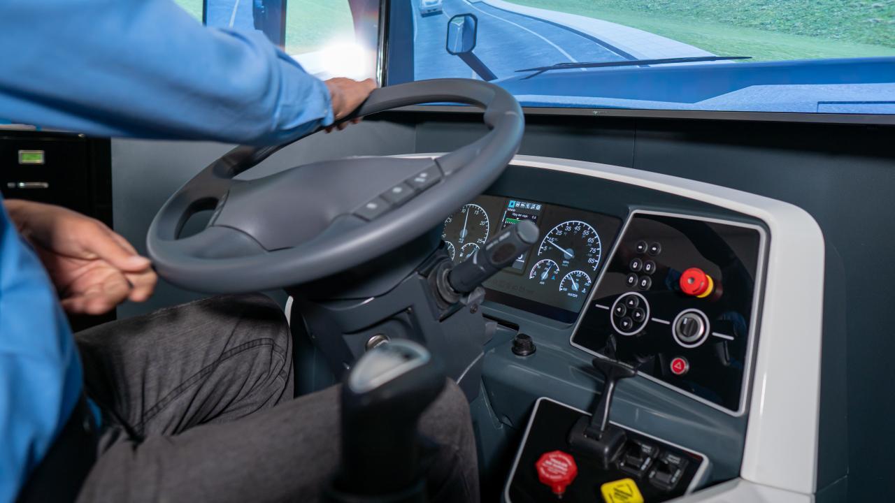 Simulador de camión americano