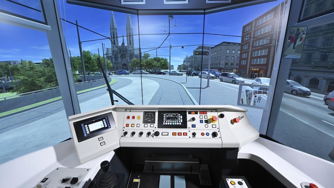 Replica desk training station