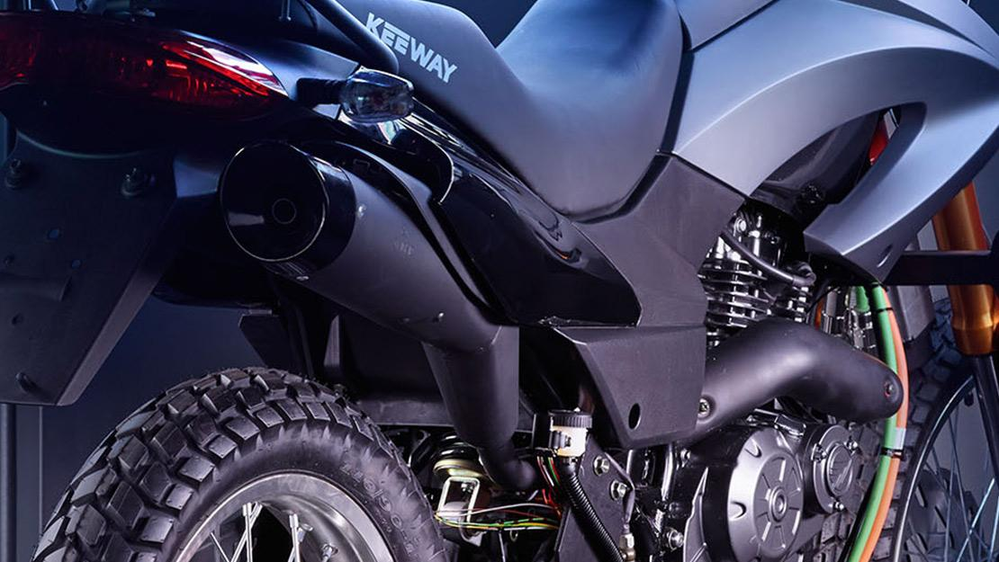 Motocicleta real